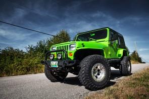 TDI Jeep YJ - Bright Green