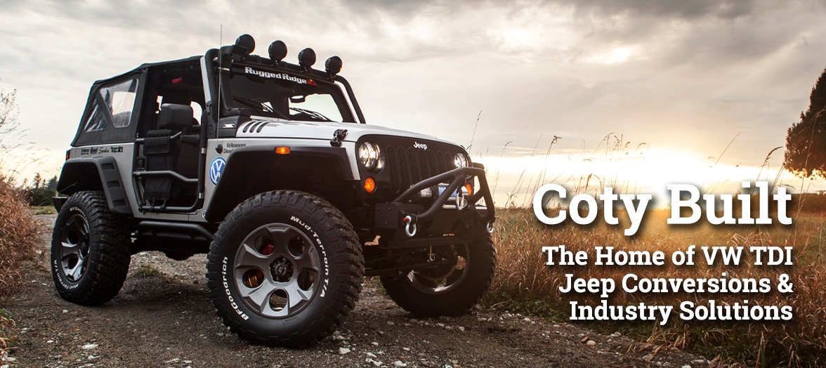 Coty Built TDI Jeep Conversions