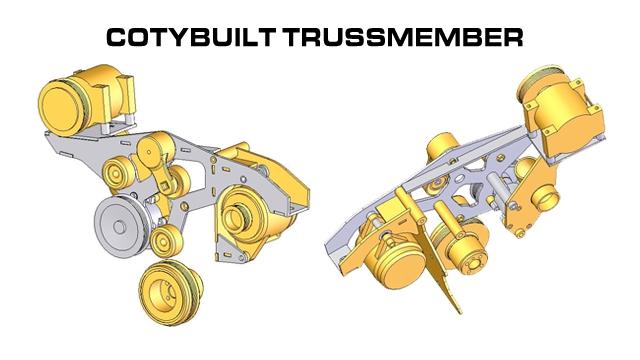 Coty built Trussmember